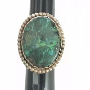 Vintage Native Handmade Mr Reece Ring silver Ring